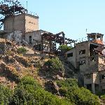 Non loin de là, la mine de Calamita