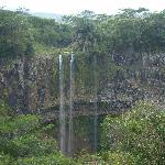 Waterfall in Chamarel