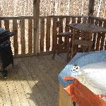 Serenity Ridge Cabin Deck