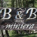 B&B della Miniera - sign on the road