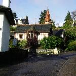part of the village Strathpeffer