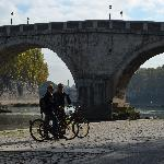 Biking down the river to Vatican City