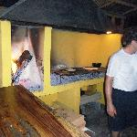 Now that's an authentic brick oven