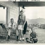 My Grandfather and mother on top of Reynolds Mountain
