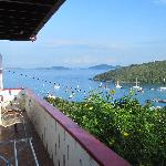 Front Suite balcony with beautiful view of Cruz Bay!