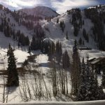 Beautiful Alta from the lodge deck on Thanksgiving Day