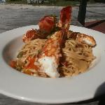 Broiled Lobster Dish