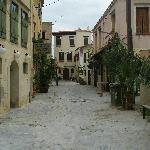 The street of the Hotel