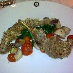 Spiced, breaded Lamb Chops