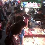 the night market just down the street