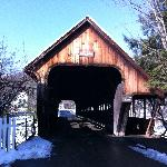 Middle Bridge in Woodstock, VT. This is located near the center of the town.