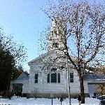 Pretty Church we saw while walking around Woodstock, VT