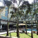 Outside view of hotel