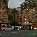Hôtel vu de la rue