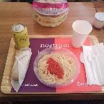 Presentación del menú
