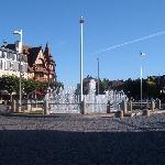 Deauville town centre
