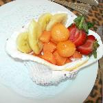 delicous fruits in a shell!
