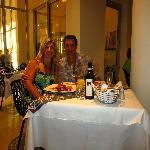 Dining at Capriccio
