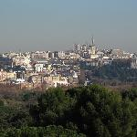 Madrid's awesome skyline from the Teleférico