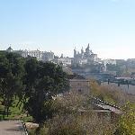 Palacio Real, the Catedral de Madrid, cityscape