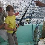 Our youngest angler