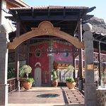 Entrance of Los Guyares