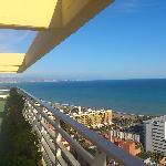 Vistas desde la terraza-solarium