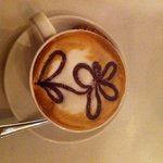 cappuccino with cute decoration!