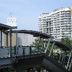 Apartment complex as seen from Bangchak skytrain station