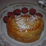 Strawberry and Ricotta filled French Toast