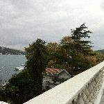 Lovely Bosphorus view from the cafeteria