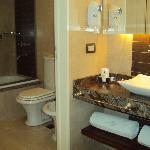 baños limpios y modernos