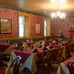 The main dining room is always warm and welcoming, but never noisy.