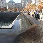911 Memorial with WFC in rear