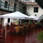 dinning courtyard