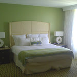 The Vinoy's guest rooms are spacious and well decorated.