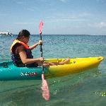 kayaking at tamaraw
