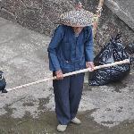 Pécheur au cormorant à l'arrivée à Yangshuo