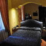 Voici la chambre que nous avons occupée
