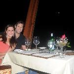 dinner at Las Ventanas