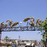 Gateway to China Town, LA.