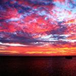 Beautiful sunset - Heron Island Resort