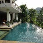 Piscine villa Agung