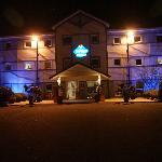 entrée hotel de nuit
