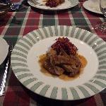 フランス料理のメイン料理