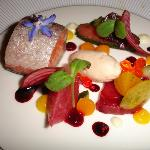 Flaours and textures of salmon