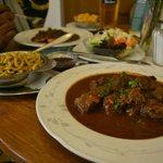 Boar ghoulash..their delicacy