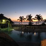 Sunset at the pool - Jolly Beach Resort