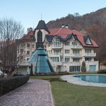 the hotel in the parc