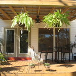 Welcome to Bayou Rose. Deck/porch overlooking river.